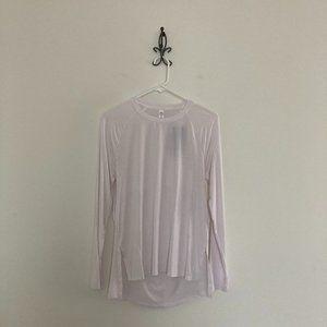 UA Long Sleeve Open Back Modal Top Size Large